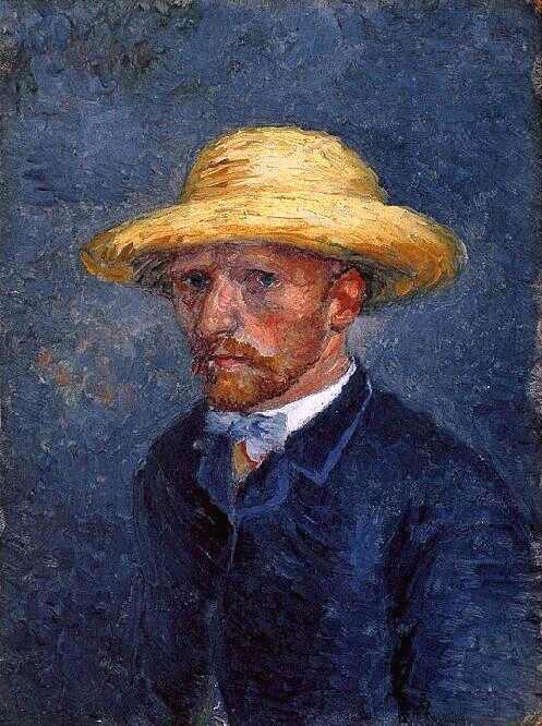 Retrato de Theo, irmão de Vincent Van Gogh,que ficou conhecido como um autorretrato