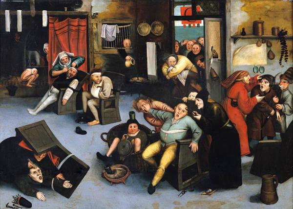 Bruegel, o Velho - A Extração da Pedra da Loucura, 1568