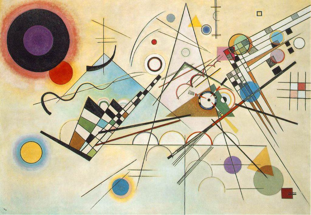 Wassily Kandinsky, Composição n°VIII, 1923, Guggenheim, Nova York