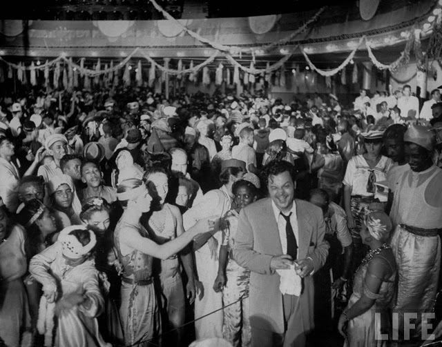 Orson Welles no carnaval do Rio de Janeiro, 1942