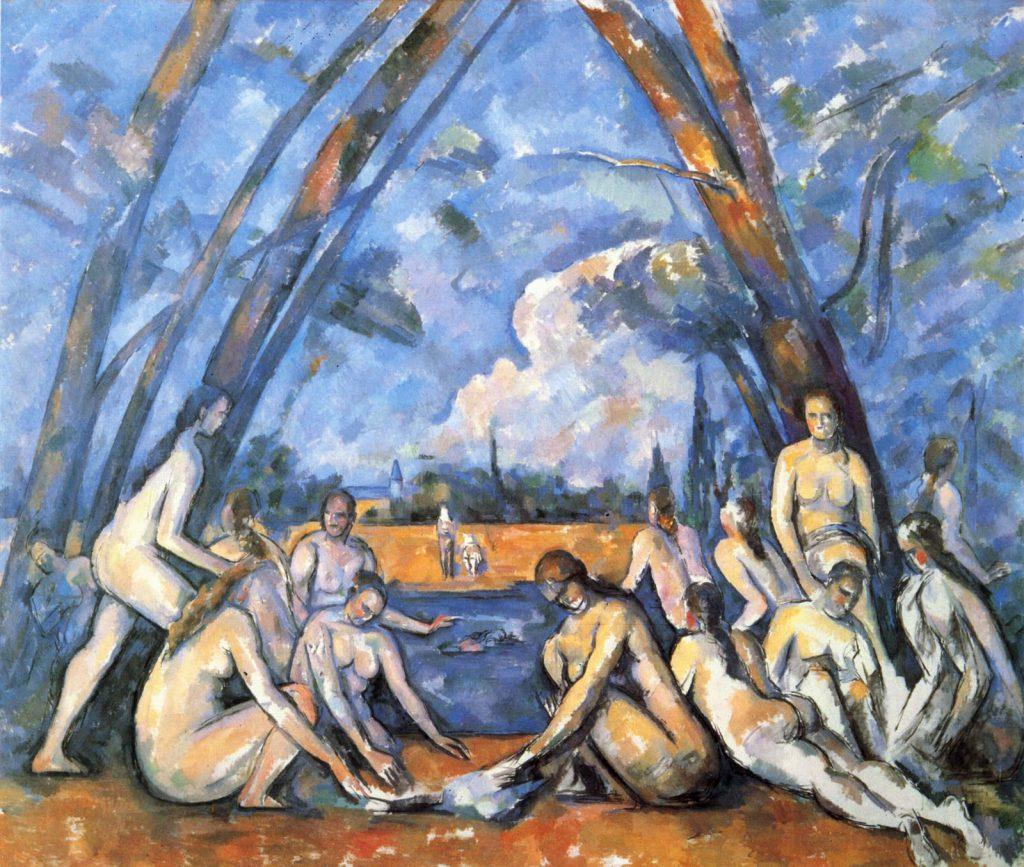 Paul Cézanne, As Banhistas, 1898-1905, Philadelphia Museum of Art, EUA
