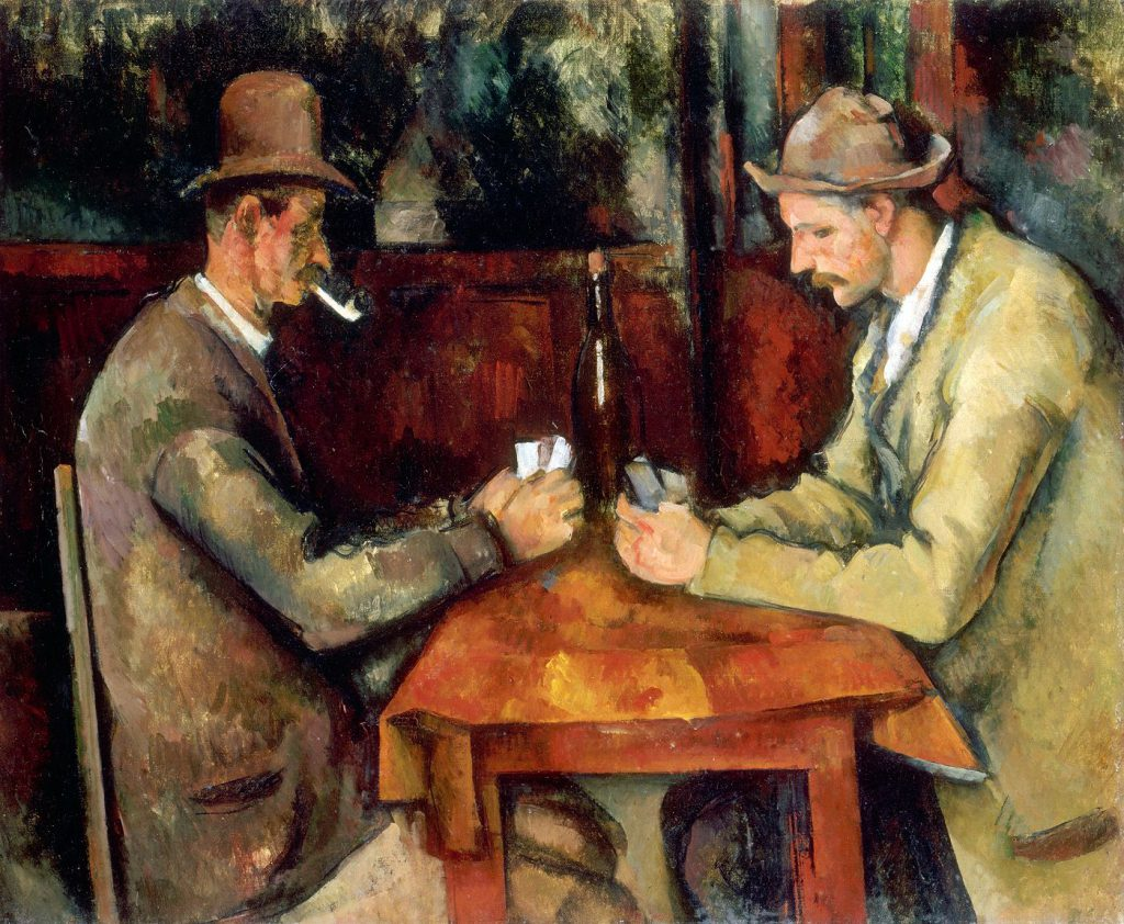 Paul Cézanne, Os Jogadores de Cartas, 1890-95, Musée D'Orsay, Paris