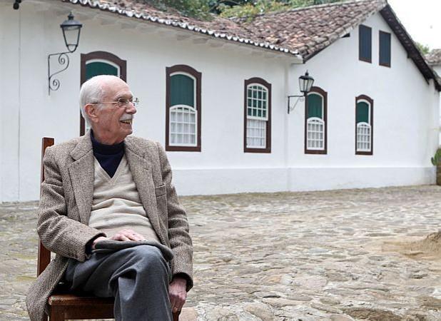 Candido durante a 9º Festa Literária Internacional de Paraty (FLIP), em 2011, que homenageou o escritor Oswald de Andrade.